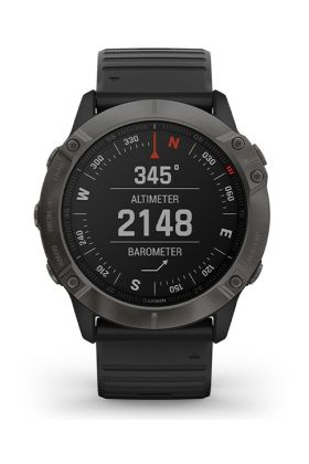 Reloj GPS Garmin Fenix 6X Zafiro Carbono DLC