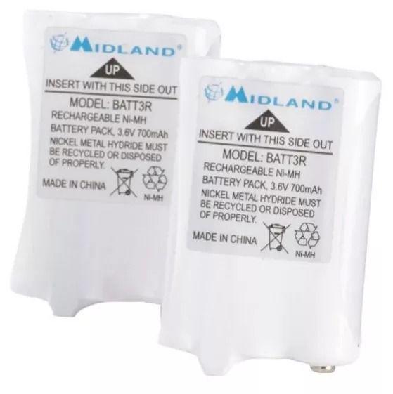 Bateria Midland AVP14 BATT3R Para Radios LXT 600, X-Talker T50 y T60