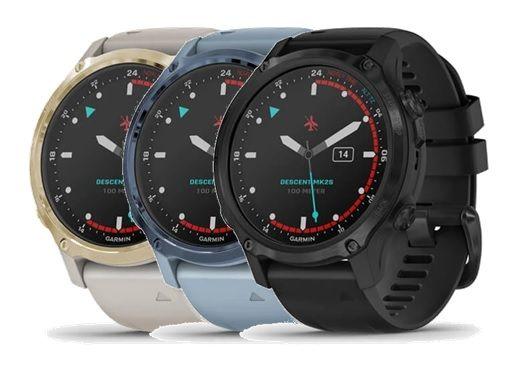 Reloj Buceo GPS Garmin Descent Mk2s Zafiro (Chico)